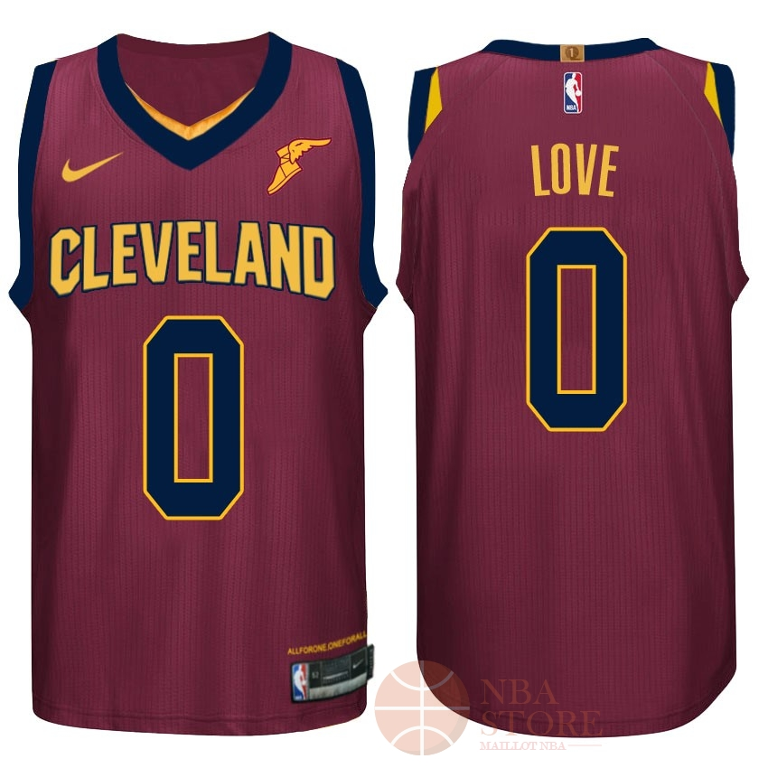 Classic Maillot NBA Nike Cleveland Cavaliers NO.0 Kevin Love Rouge