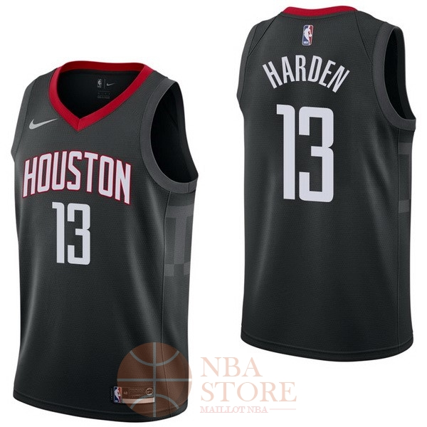Classic Maillot NBA Nike Houston Rockets NO.13 James Harden Noir Statement