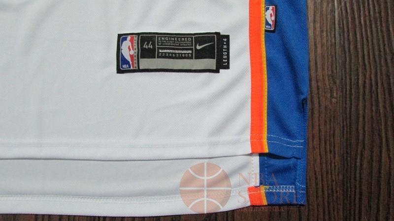 bcfb794f3a51c ... Classic Maillot NBA Nike Oklahoma City Thunder NO.0 Russell Westbrook  Blanc Association ...