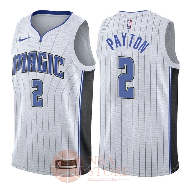 Classic Maillot NBA Nike Orlando Magic NO.2 Elfrid Payton Blanc Association