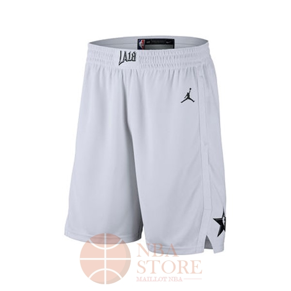 Classic Short Basket 2018 All Star Blanc