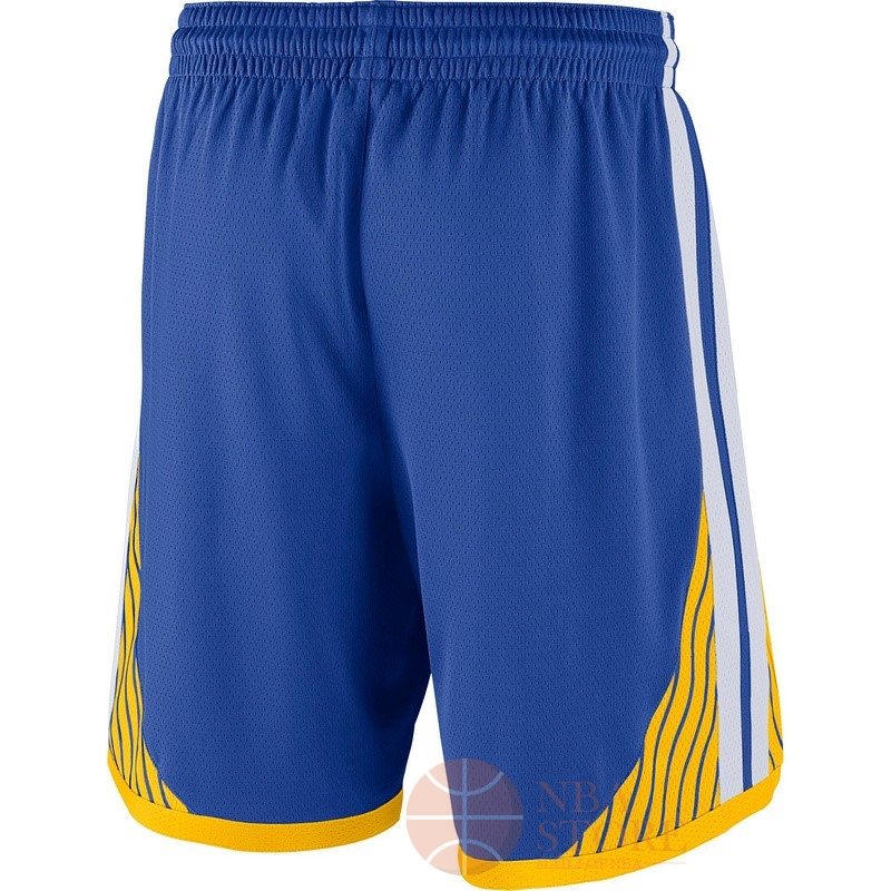 Classic Short Basket Golden State Warriors Nike Bleu