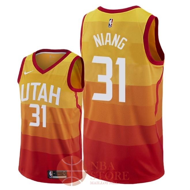 best sneakers 165dd 6b19c NBA Store France - Classic Maillot NBA Nike Utah Jazz NO.31 ...