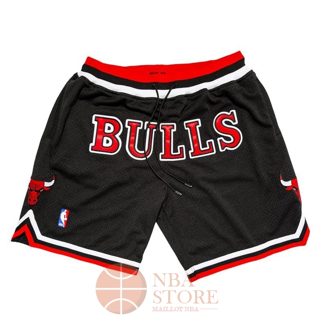 Classic Short Basket Chicago Bulls Nike Retro Noir 2018