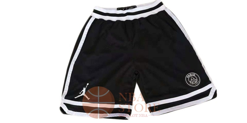 Classic Short Basket Jordan x Paris Saint-Germain Noir