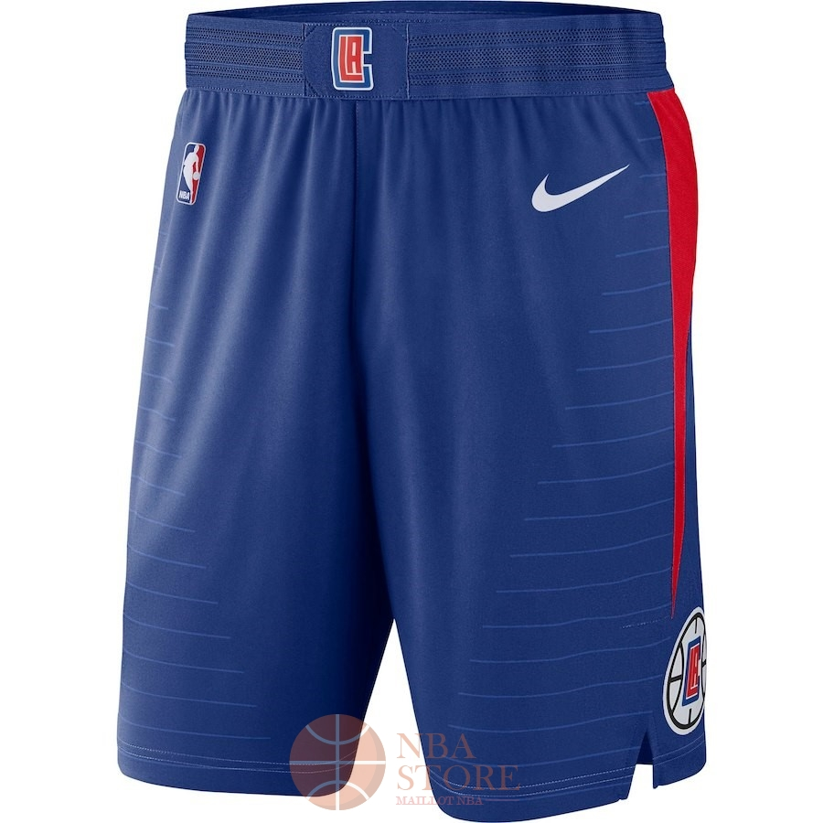 Classic Short Basket Los Angeles Clippers Nike Bleu Icon 2018
