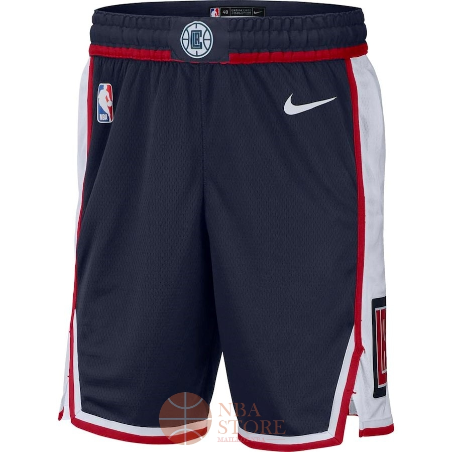 Classic Short Basket Los Angeles Clippers Nike Marine Ville 2018-19