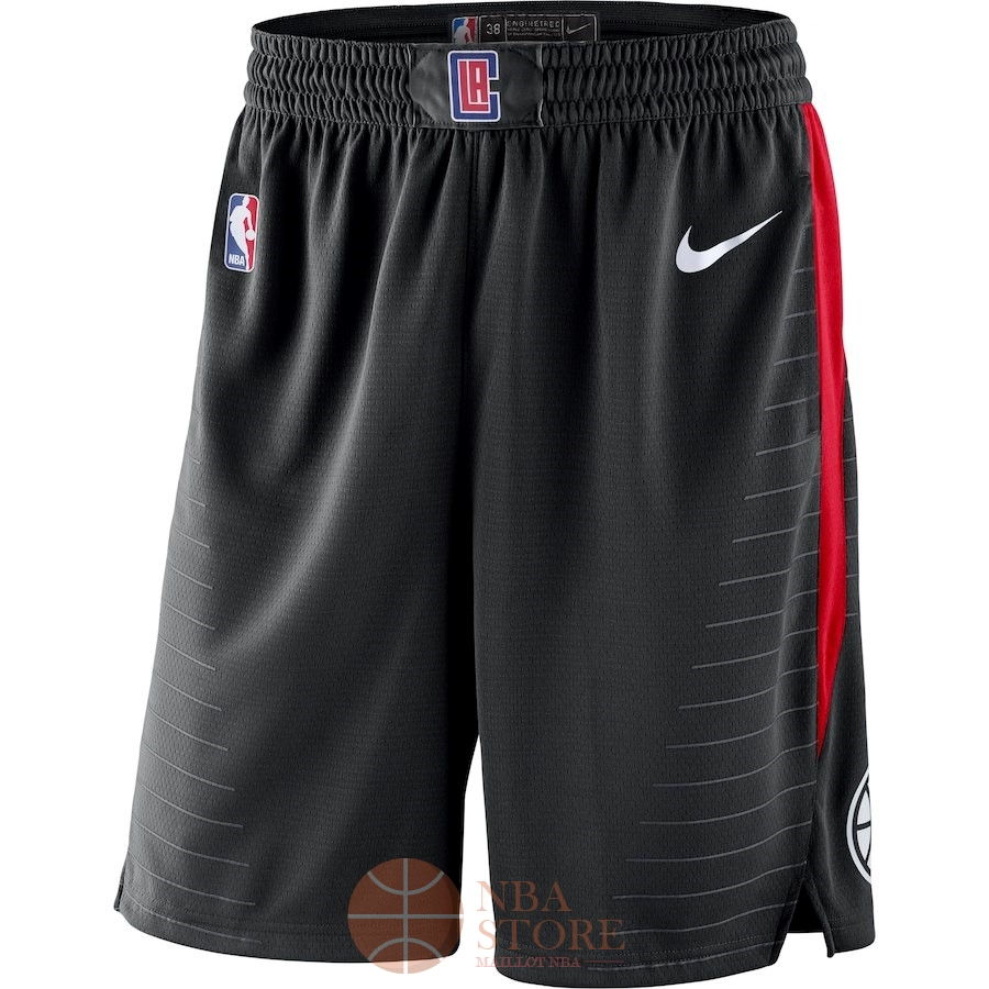 Classic Short Basket Los Angeles Clippers Nike Noir Statement 2018