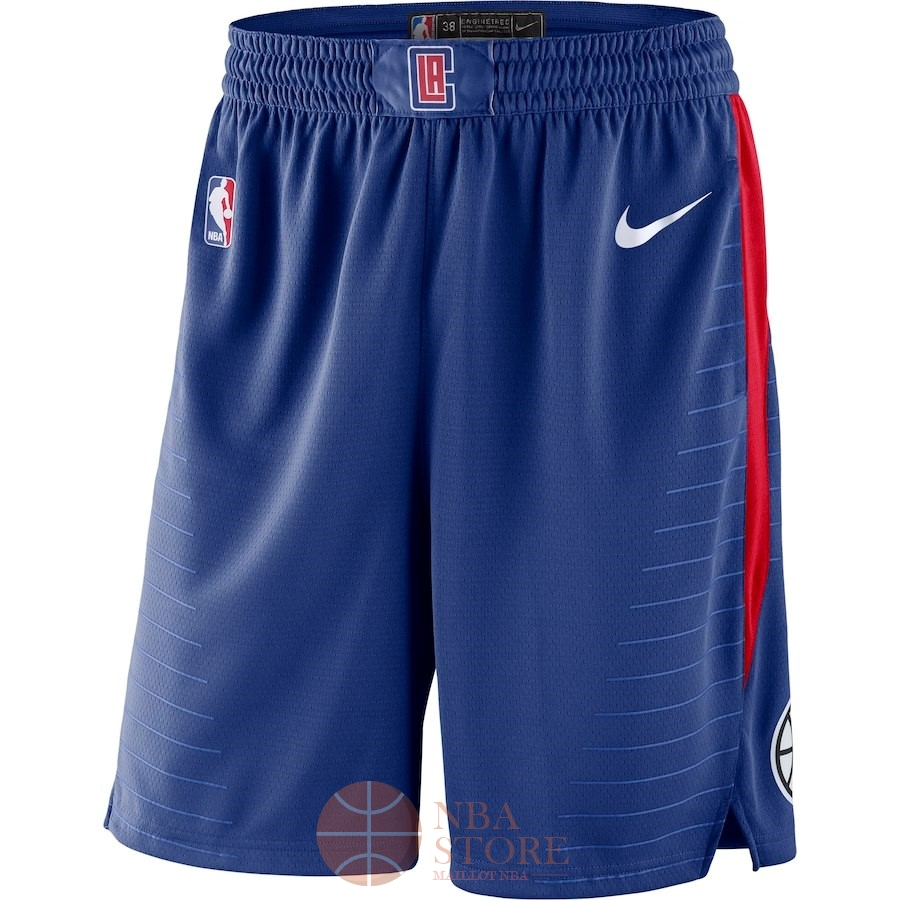 Classic Short Basket Los Angeles Clippers Nike Royal Bleu 2018