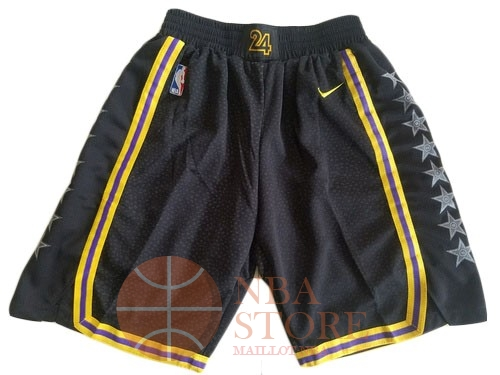 Classic Short Basket Los Angeles Lakers Nike Noir 2018