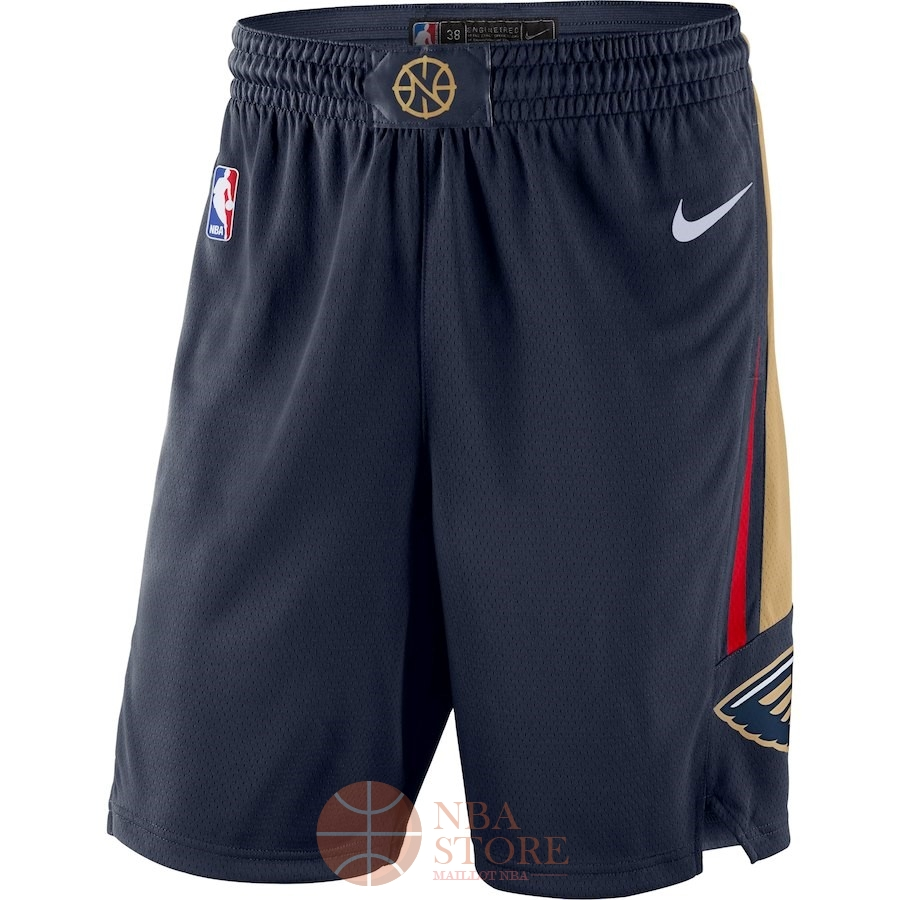 Classic Short Basket New Orleans Pelicans Nike Marine Icon 2018