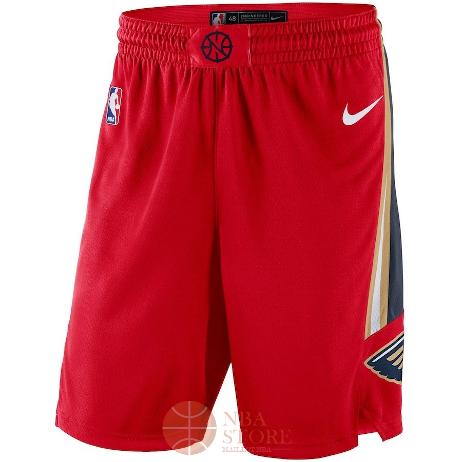 Classic Short Basket New Orleans Pelicans Nike Rouge Statement 2018