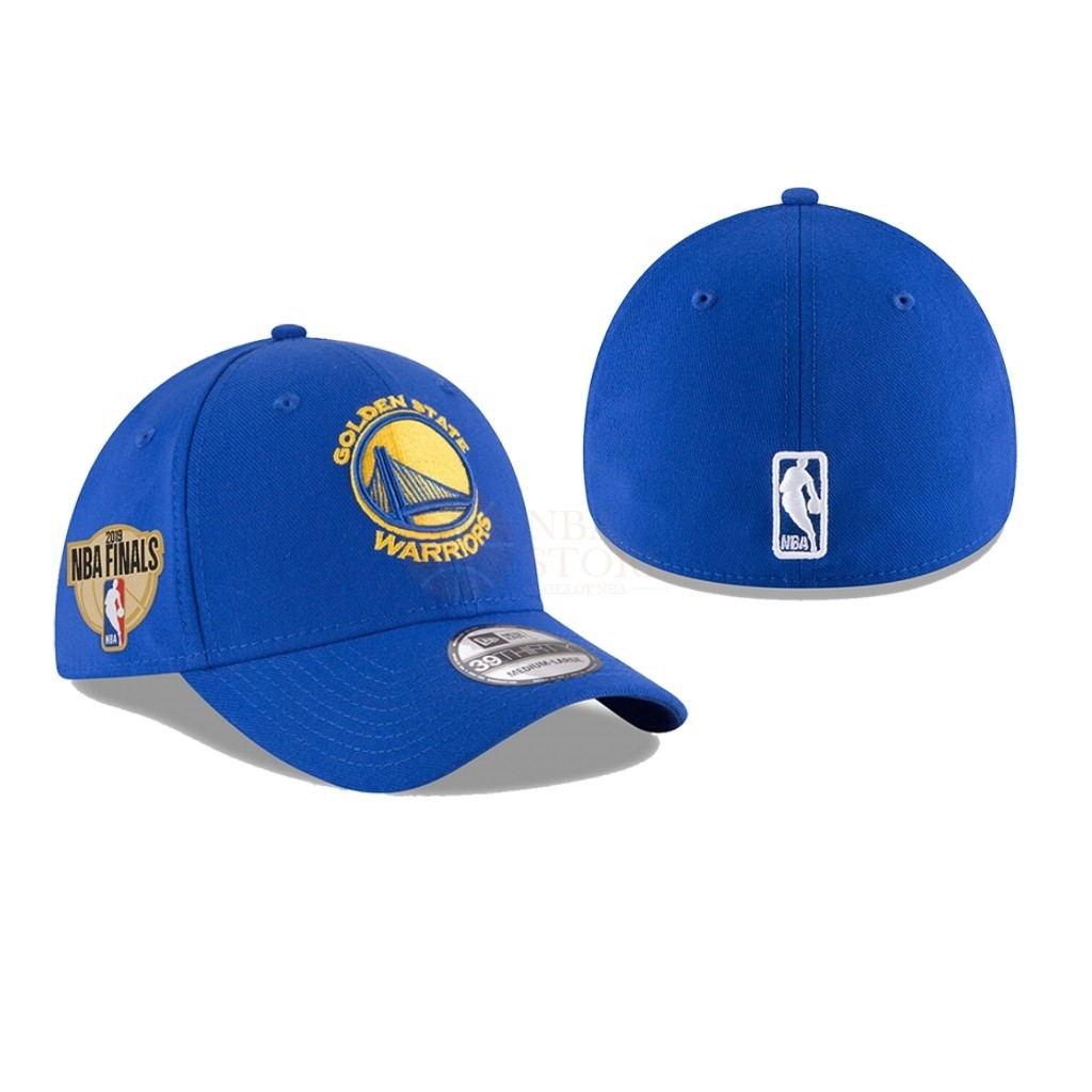 Classic Bonnet 2019 NBA Finals Golden State Warriors Bleu 01