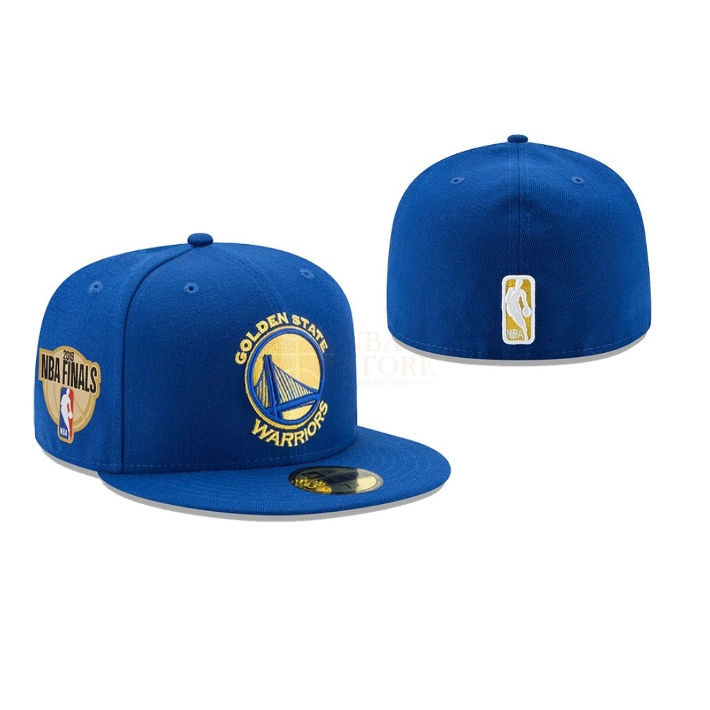Classic Bonnet 2019 NBA Finals Golden State Warriors Bleu 02