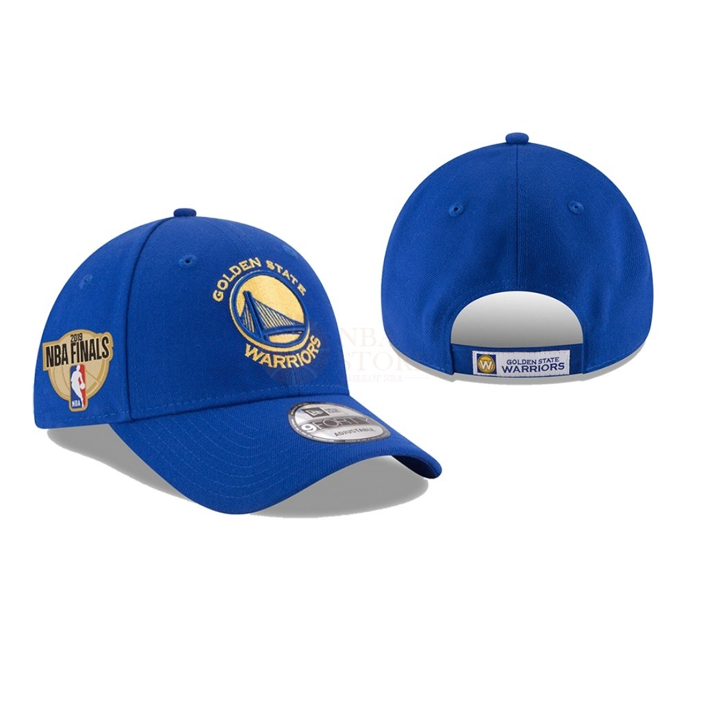 Classic Bonnet 2019 NBA Finals Golden State Warriors Bleu 03