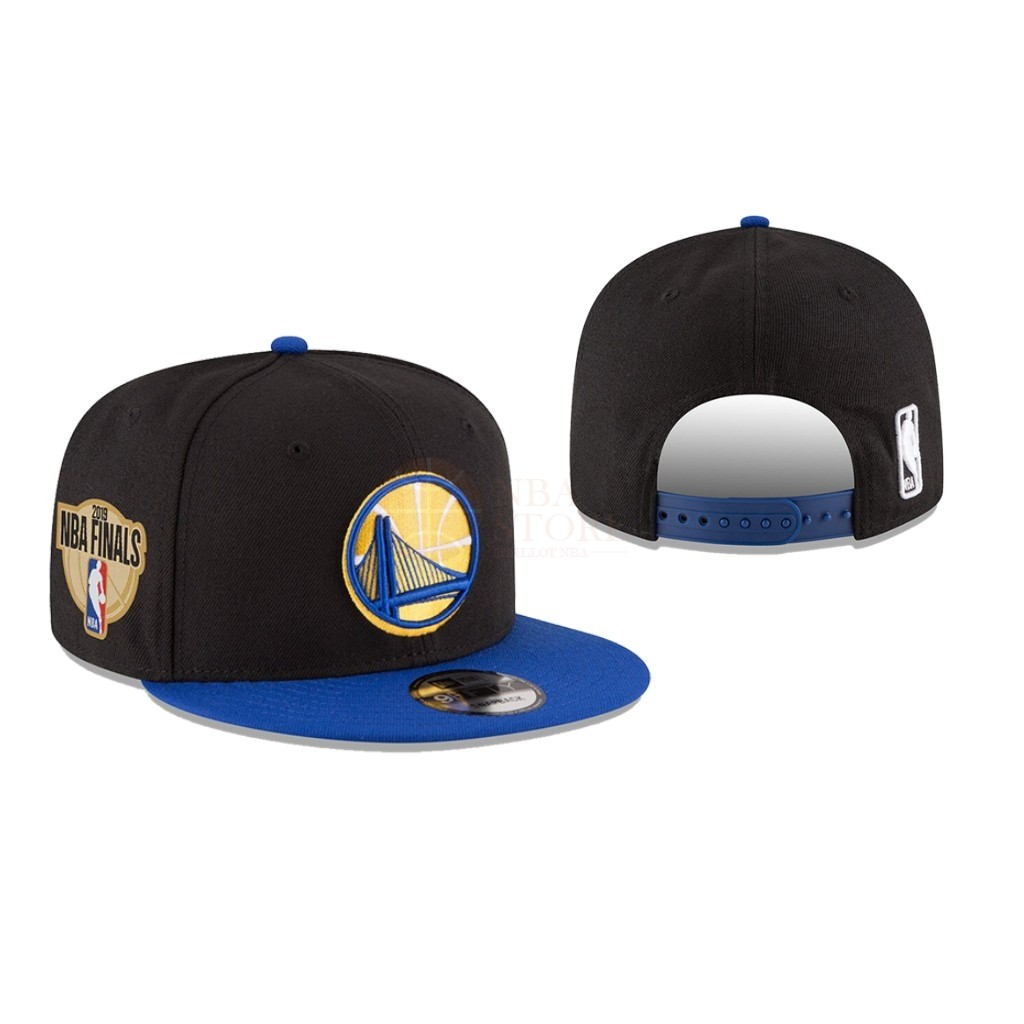 Classic Bonnet 2019 NBA Finals Golden State Warriors Noir 01