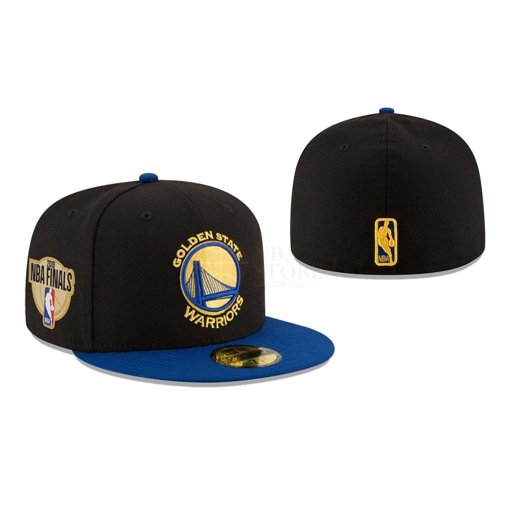 Classic Bonnet 2019 NBA Finals Golden State Warriors Noir 02