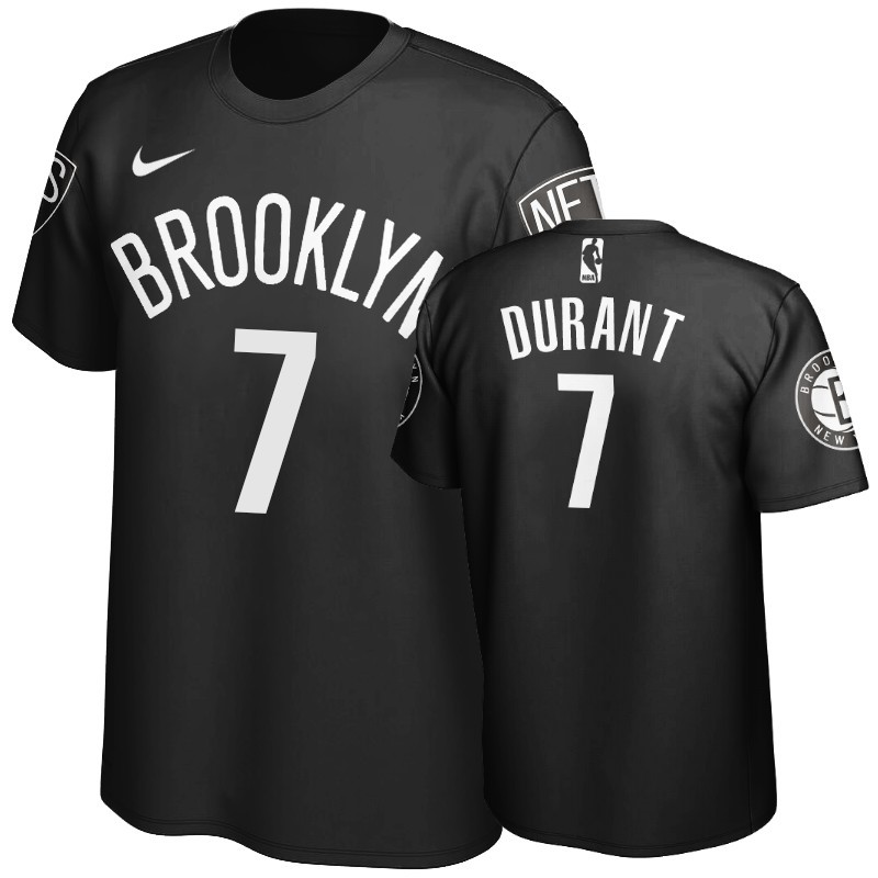 T-Shirt NBA Brooklyn Nets Kevin Durant Noir
