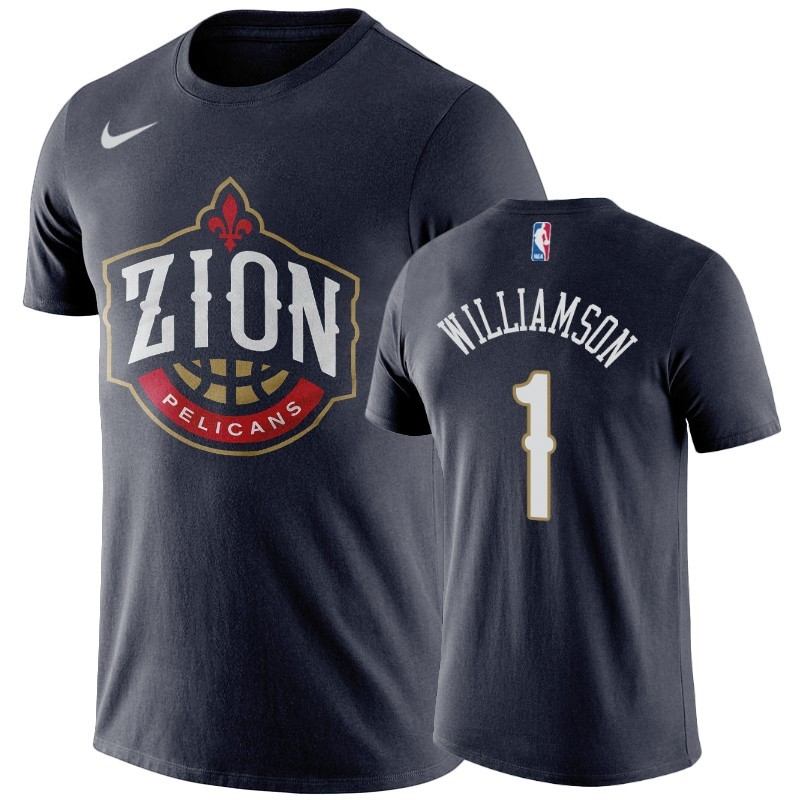 T-Shirt NBA New Orleans Pelicans Zion Williamson Marine
