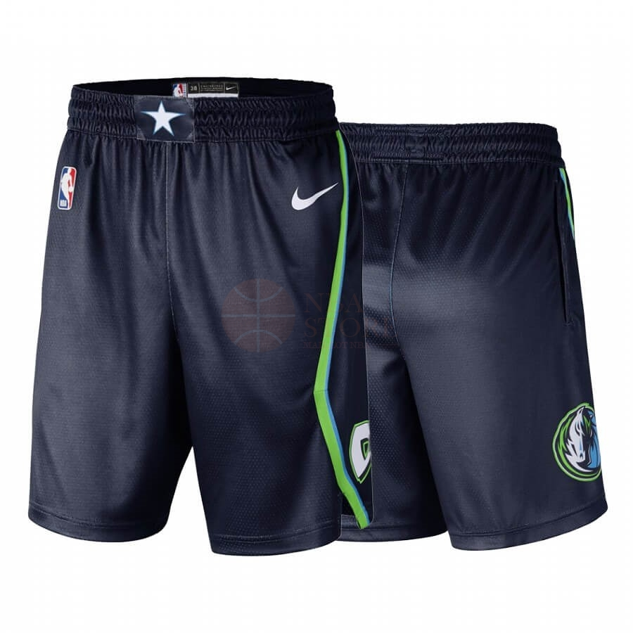 Classic Short Basket Dallas Mavericks Nike Noir Ville 2019-20