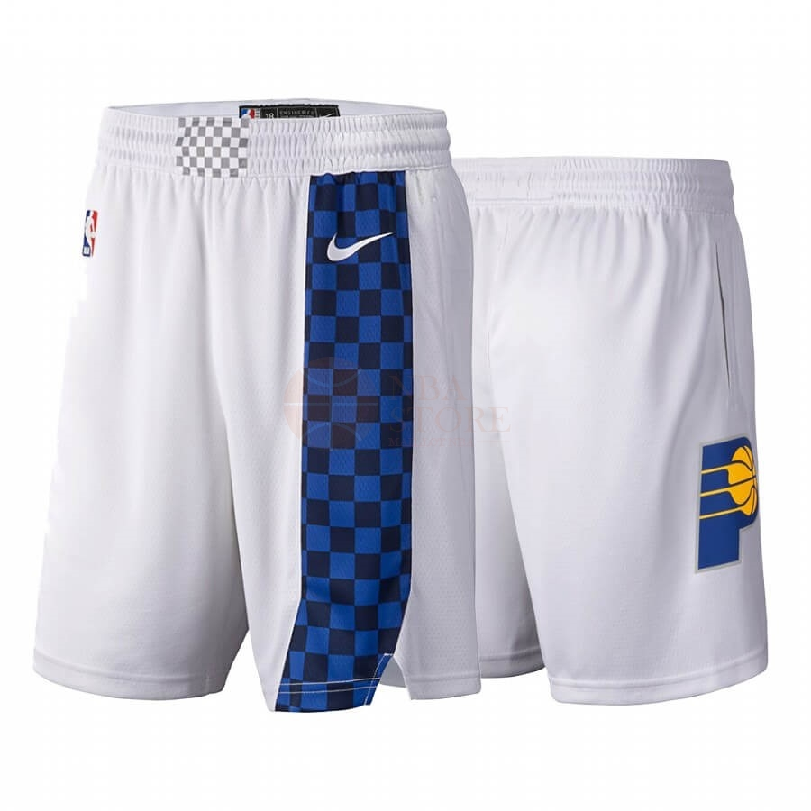 Classic Short Basket Indiana Pacers Nike Blanc Ville 2019-20