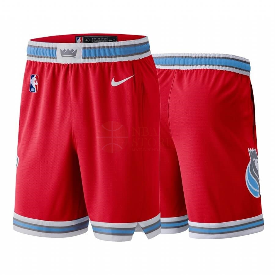 Classic Short Basket Sacramento Kings Nike Rouge Ville 2019-20
