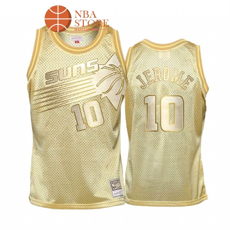 Maillot NBA Phoenix Suns Limited NO.10# Ty Jerome Or Hardwood Classics