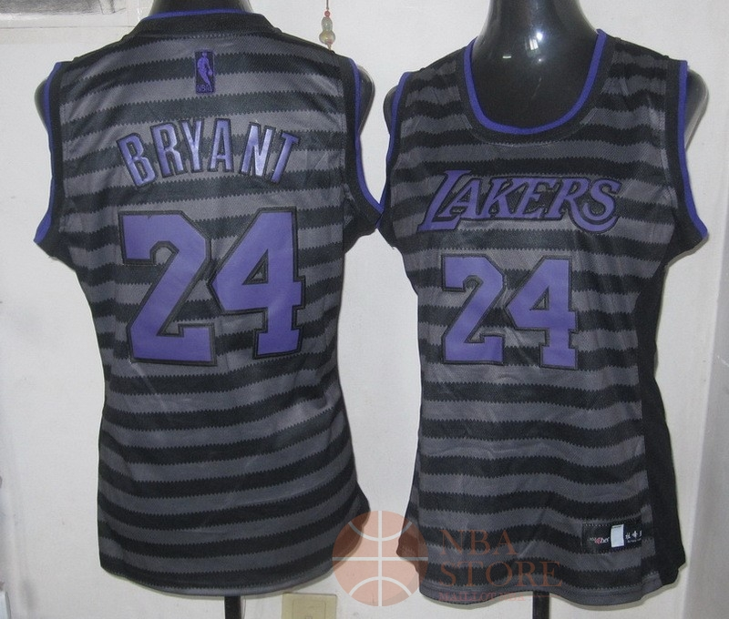 Classic Maillot NBA Femme Groove Fashion NO.24 Kobe Bryant