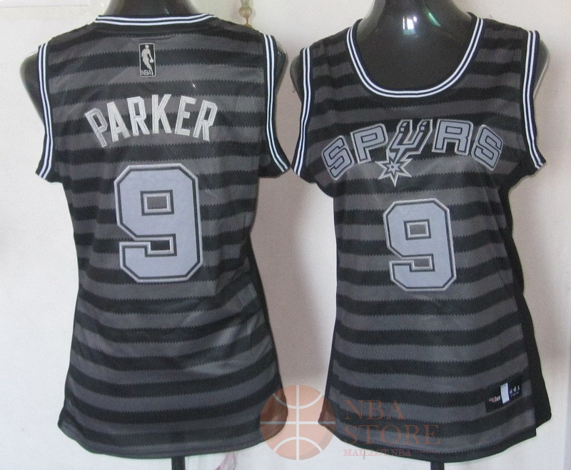 Classic Maillot NBA Femme Groove Fashion NO.9 Tony Parker