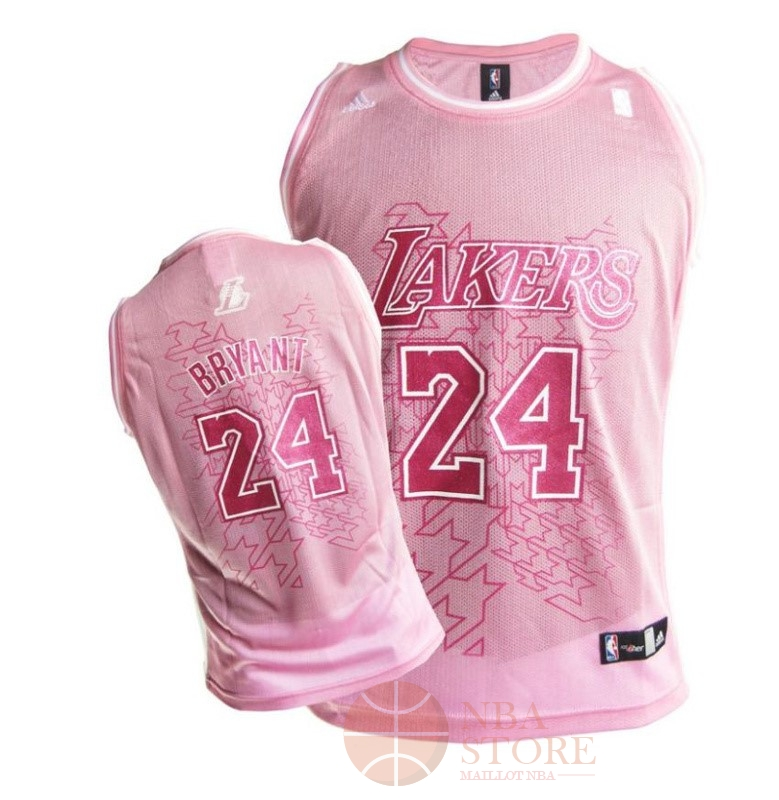 Classic Maillot NBA Femme Los Angeles Lakers NO.24 Kobe Bryant Rouge Blanc