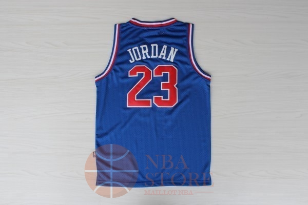Classic Maillot NBA 1992 All Star NO.23 Michael Jordan Bleu
