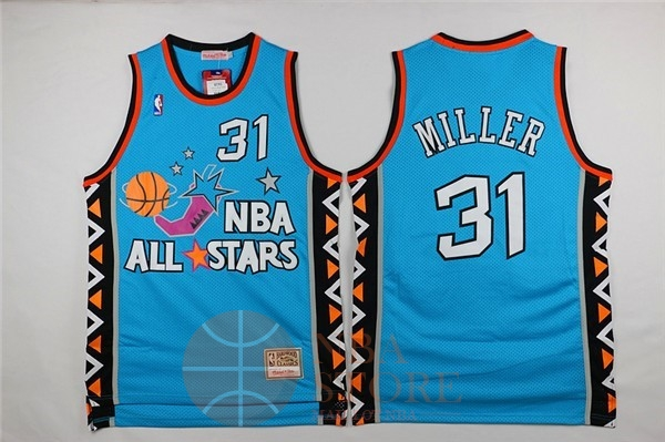 Classic Maillot NBA 1996 All Star NO.31 Andre Miller Bleu
