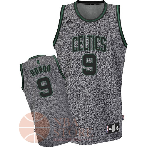 Classic Maillot NBA 2013 Static Fashion Boston Celtics NO.9 Rondo