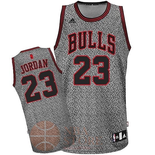 Classic Maillot NBA 2013 Static Fashion Chicago Bulls NO.23 Jordan