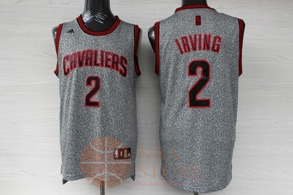 Classic Maillot NBA 2013 Static Fashion Cleveland Cavaliers NO.2 Irving