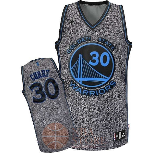 Classic Maillot NBA 2013 Static Fashion Golden State NO.30 Curry