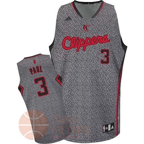 Classic Maillot NBA 2013 Static Fashion Los Angeles Clippers NO.3 Chris Paul