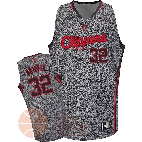 Classic Maillot NBA 2013 Static Fashion Los Angeles Clippers NO.32 Blake Griffin