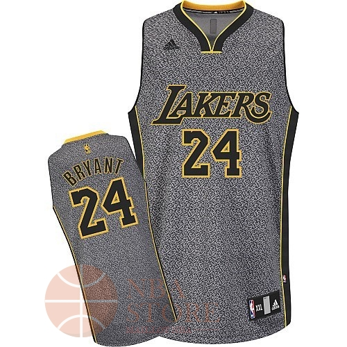 Classic Maillot NBA 2013 Static Fashion Los Angeles Lakers NO.24 Bryan