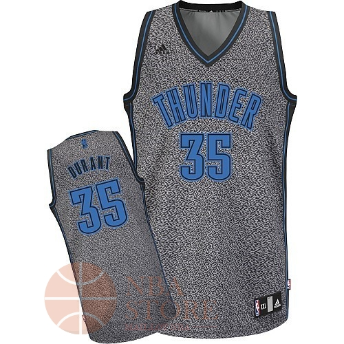 Classic Maillot NBA 2013 Static Fashion Oklahoma City Thunder NO.32 Durant