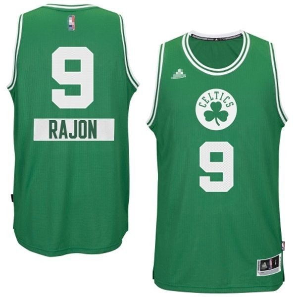 Classic Maillot NBA Boston Celtics 2014 Noël NO.0 Damian Noir