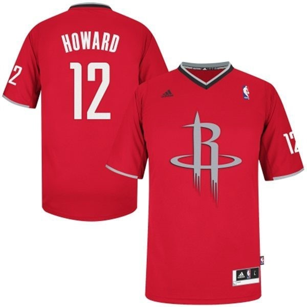 Classic Maillot NBA Houston Rockets 2013 Noël NO.12 Howard Rouge
