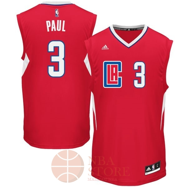 Classic Maillot NBA Los Angeles Clippers NO.3 Chris Paul Rouge