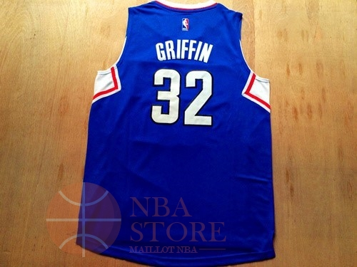 Classic Maillot NBA Los Angeles Clippers NO.32 Blake Griffin Bleu