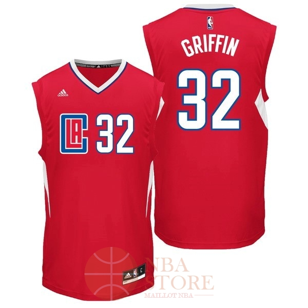 Classic Maillot NBA Los Angeles Clippers NO.32 Blake Griffin Rouge