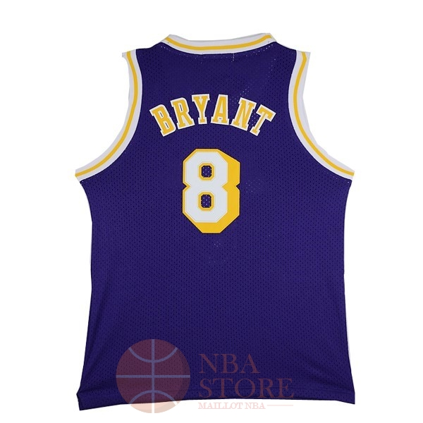 Classic Maillot NBA Los Angeles Lakers NO.8 Kobe Bryant Pourpre