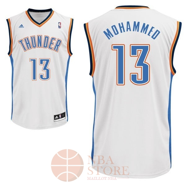 Classic Maillot NBA Oklahoma City Thunder NO.13 James Harden Blanc