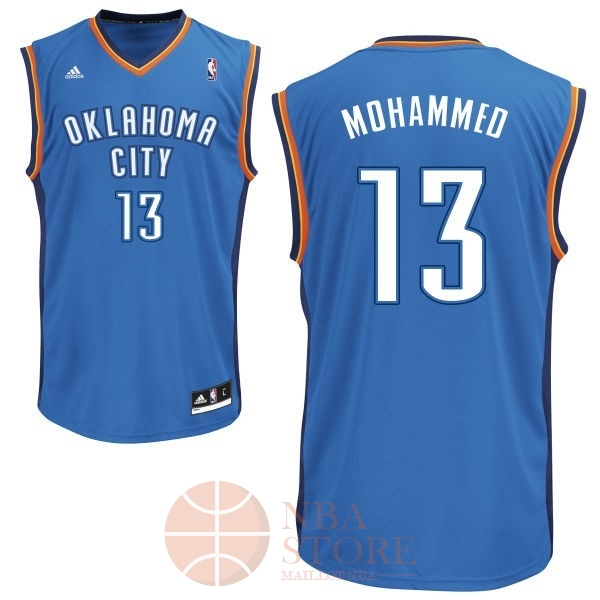 Classic Maillot NBA Oklahoma City Thunder NO.13 James Harden Bleu