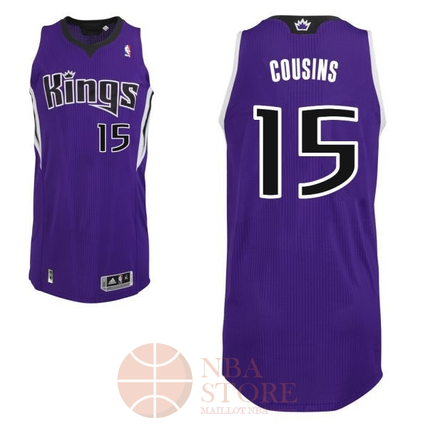 Classic Maillot NBA Sacramento Kings NO.15 DeMarcus Cousins Pourpre