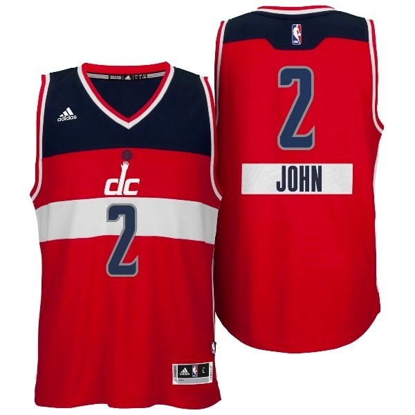 Classic Maillot NBA Washington Wizards 2014 Noël NO.2 John Rouge